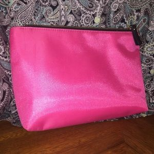 "Victoria's Secret Bags - Victoria's Secret's Pink ""You Wish"" Makeup Pouch"
